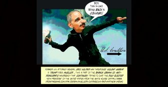 Former AG Eric Holder: Just When You Thought He Was Gone, He's Back