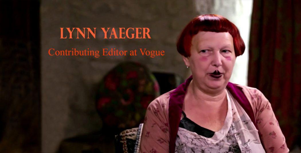 Lynn Yaeger Ctriticizes Menlania Trump