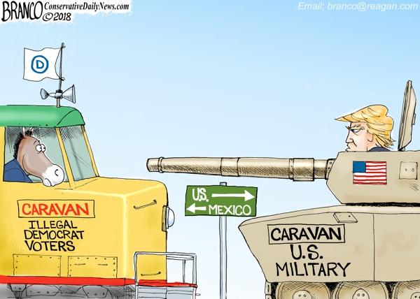 Caravan to the Border