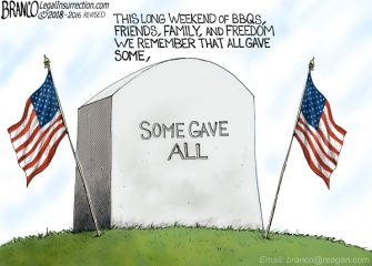 A.F. Branco Cartoon – Honoring Their Memory