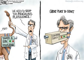 A.F. Branco Cartoon – Not A Real Scientist Guy