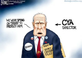 A.F. Branco Cartoon – Deep State Depression