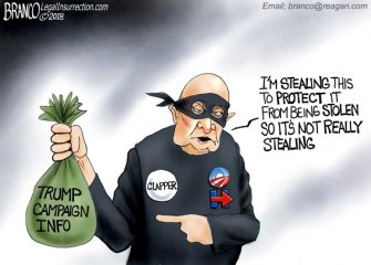 A.F. Branco Cartoon – It Takes A Thief