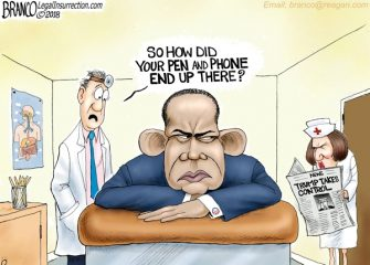 A.F. Branco Cartoon – His Legacy's End