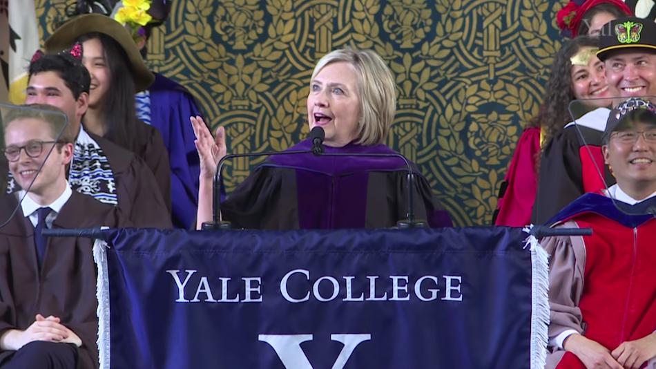 Hillary at Yale 2