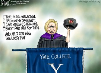 A.F. Branco Cartoon – The Mad Hatter