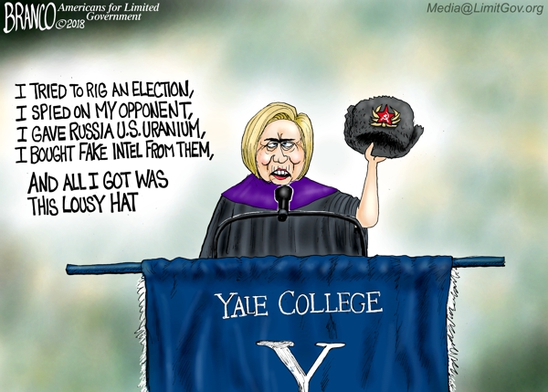 Hillary Clinton's Russian Hat