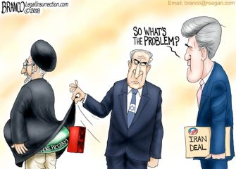 A.F. Branco Cartoon – Death to Iran Deal