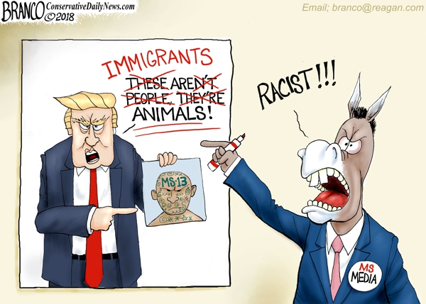 Trump MS-13 Animals