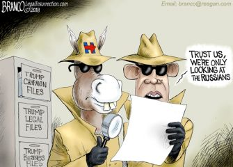 A.F. Branco Cartoon – Watergate x 10