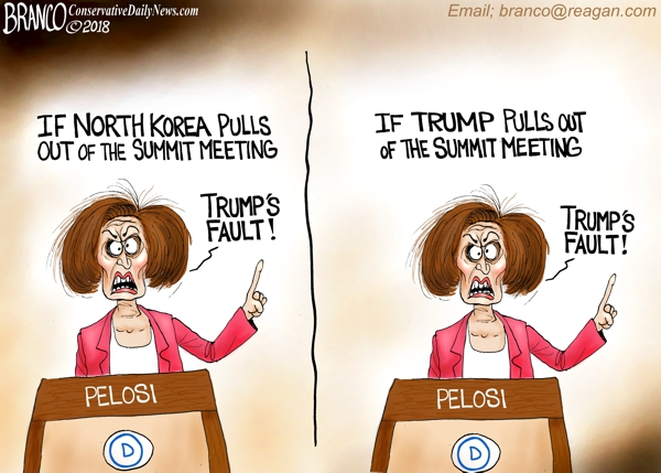 Pelosi Trump and Korea