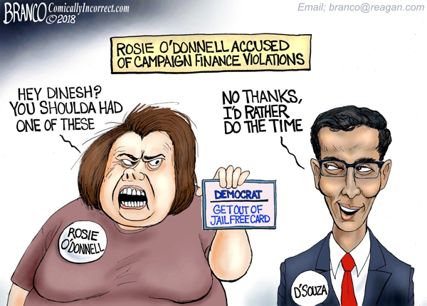 Rosie O'Donnell and Dinesh d' Souza
