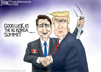 A.F. Branco Cartoon – Who Needs Enemies
