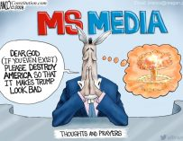 A.F. Branco Cartoon – Thoughts and Prayers