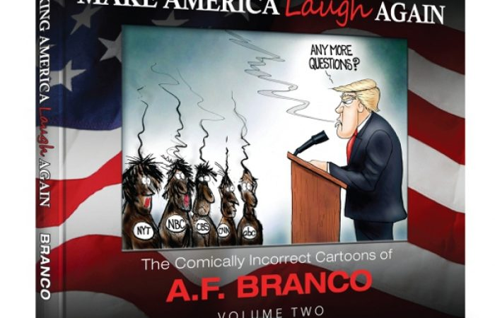 A.F. Branco Book- Make America Laugh Again