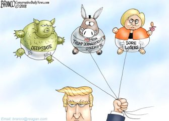 A.F. Branco Cartoon – Hot Air Balloons