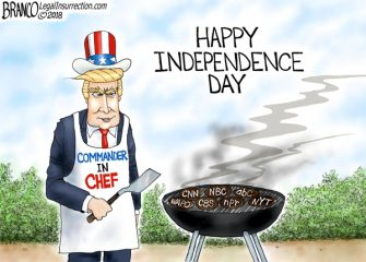 A.F. Branco Cartoon – Well Done Mr. President