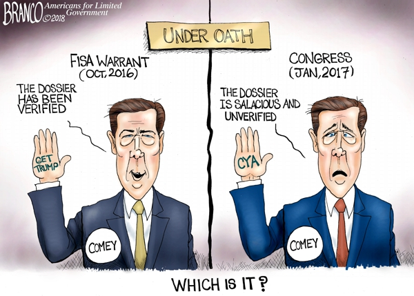 Comey Lied Under Oath