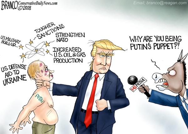 Trump as Putin Puppet