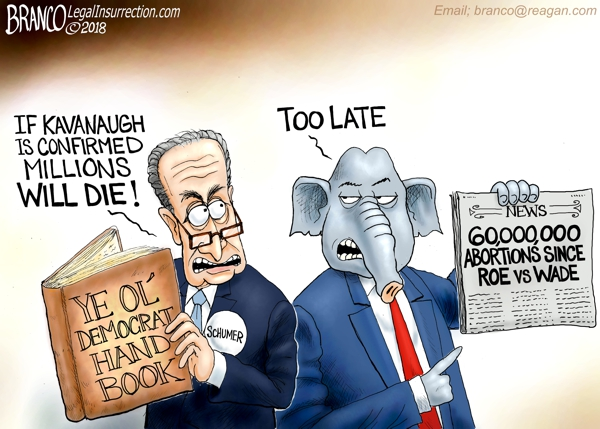 Democrats Hate Kavanaugh