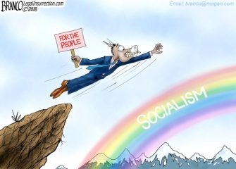 A.F. Branco Cartoon – Leap of Faith