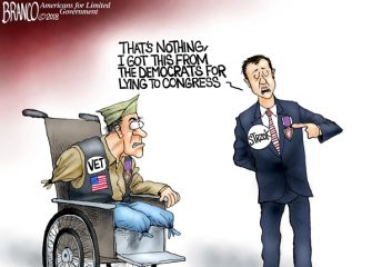 A.F. Branco Cartoon – Medal Disorder