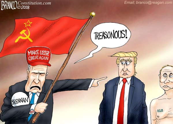 Brennan Calls Trump Treasonous