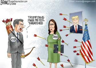 A.F. Branco Cartoon – Accosted