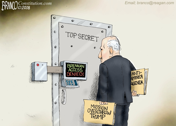 Brennan Loses Security Clearance
