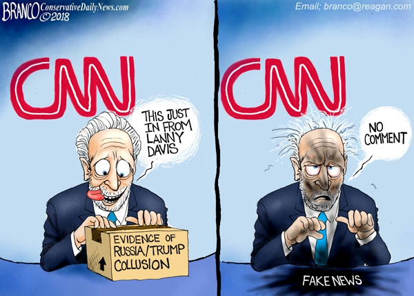 Lanny Davis Fake CNN News