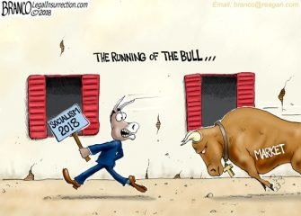 A.F. Branco Cartoon – Charge!