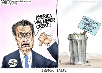 A.F. Branco Cartoon –  Trash Talk