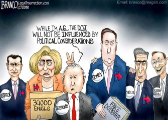 A.F. Branco Cartoon – Bull Sessions