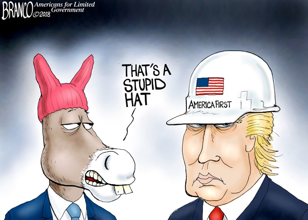 Trump Hardhat leader