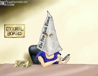 A.F. Branco Cartoon – The Failing New York Times