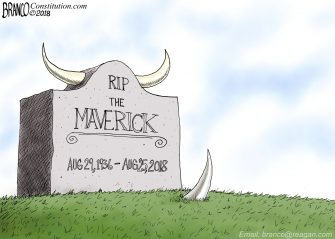 A.F. Branco Cartoon – Too Soon