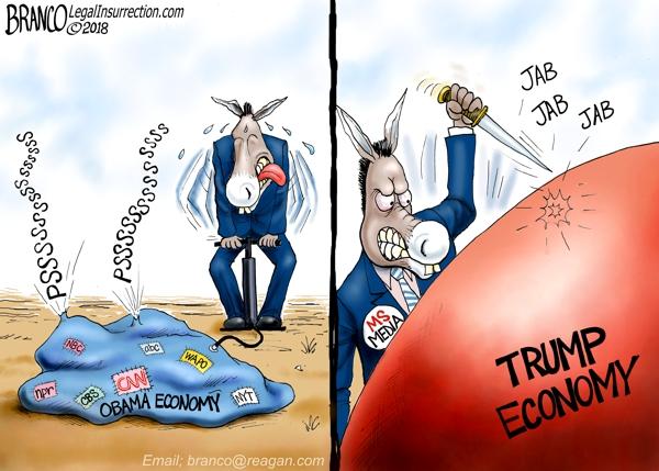Media Hates Trump Economy