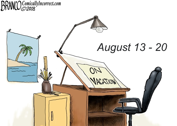 Branco Vacation August 2018