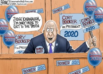 A.F. Branco Cartoon – Spartacus 2020