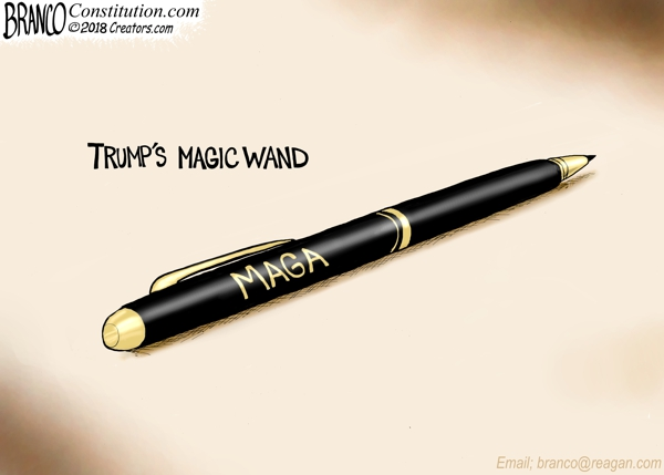 Trump's Magic Wand