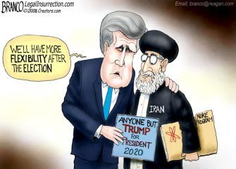 A.F. Branco Cartoon – In the Shadows