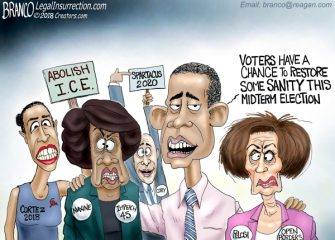 A.F. Branco Cartoon – The Definition of Insanity
