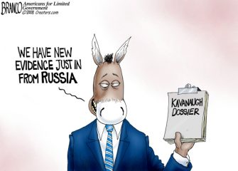 A.F. Branco Cartoon – Russian To Judgment