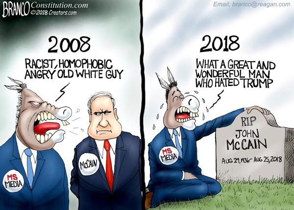 Media and John McCain