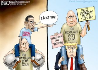 A.F. Branco Cartoon – NObama-nomics