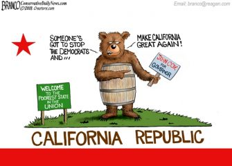 A.F. Branco Cartoon – California Dreamin'