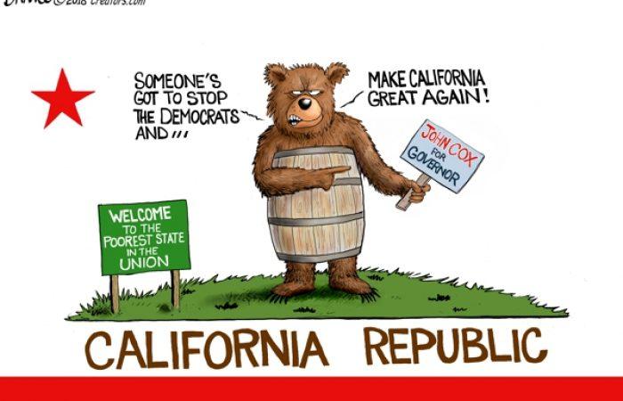 A.F. Branco Cartoon – California Dreamin'