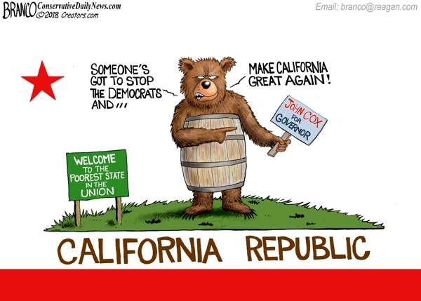 California Governor Election 2018