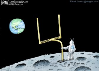 A.F. Branco Cartoon – 4th and Long