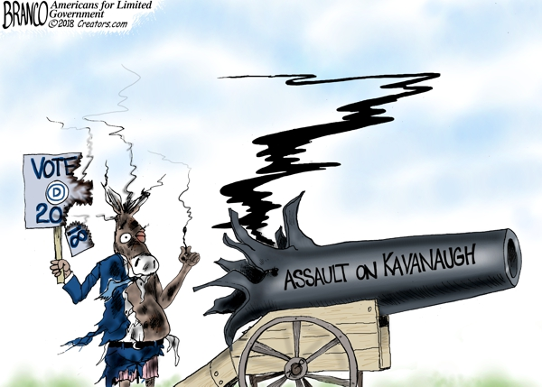 Assault on Kavanaugh Backfires
